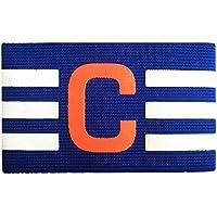 Kinbelle - Brazalete de Fútbol Ajustable, Multicolor, Azul