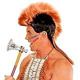 Perücke Irokese Indianer-Häuptling Iro-Frisur Mohikaner Kunsthaar Punk Haarteil Indianerparty Zubehör Karneval Accessoire