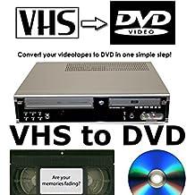 Daewoo df-4150p grabadora de DVD y grabador de VHS VCR combinación * transferencia cintas