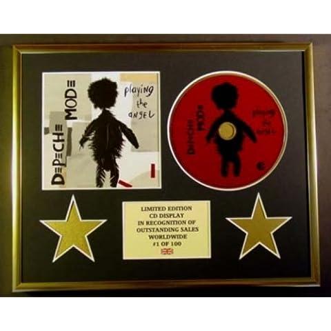 DEPECHE MODE/CD Display/Edicion Limitada/Certificato di autenticità/PLAYING THE ANGEL