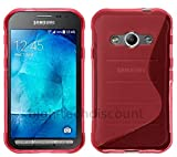 htdmobiles Housse Etui Coque Silicone Gel Fine pour Samsung G389F Galaxy Xcover 3 VE...