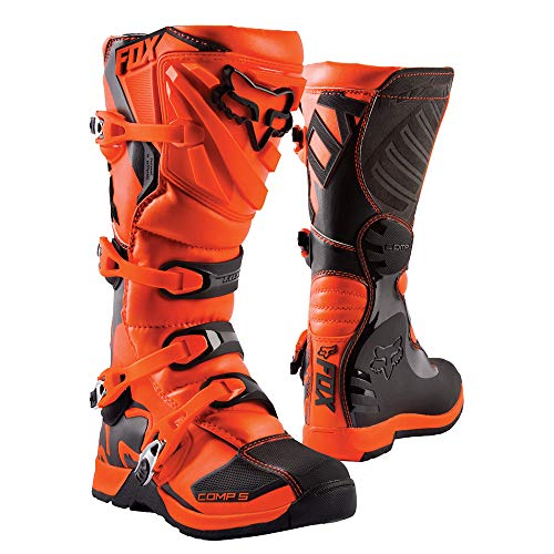 Fox Shoes Junior Comp 5Y Orange Y6 (241Mm)