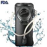 JuguHoovi Trinkblase 2L mit Beissventil,BPA-frei, Antibakteriell und...