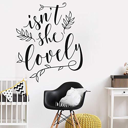 Sie Schöne Wandtattoo Zitate Art Vinyl Kindergarten Floral Wandbild Wandaufkleber Für Baby Kinderzimmer Abnehmbare Text Wallpeprs