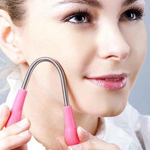 hahuha Makeups  Schönheitsprodukte ,Gesichts-Epilierer Glatte Gesichtshaare, die Haarentfernungs-Entferner einfädeln