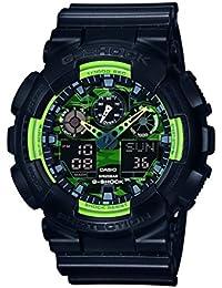 Casio G-Shock – Herren-Armbanduhr mit Analog/Digital-Display und Resin-Armband – GA-100LY-1AER