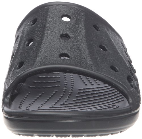 crocs Unisex-Erwachsene Baya Slide Pantoffeln Schwarz (Black)
