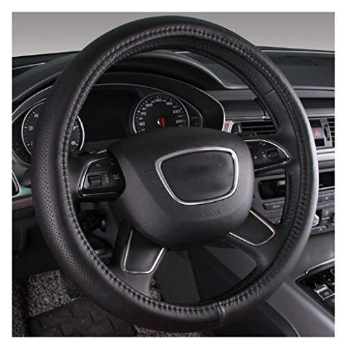 MTH Couvre Volant Voiture,Universel en Cuir 38cm15 inch Auto Accessoirs Respirante Antidérapante Housse Volant pour Voiture/Camion/SUV MTH-20