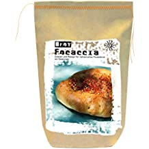 Feuer & Glas Breadworks, Focaccia, Pan Italiano sin Levadura con Especias, ...