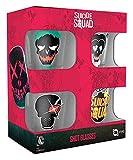 Suicide Squad Characters Schnaps-Glas-Set Standard