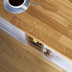 Solid Oak Timber Block Worktops 2000mm x 620mm x 40mm