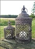 Windlicht/Kerzenhalter, im maurischen Stil, Vintage, 2Stück