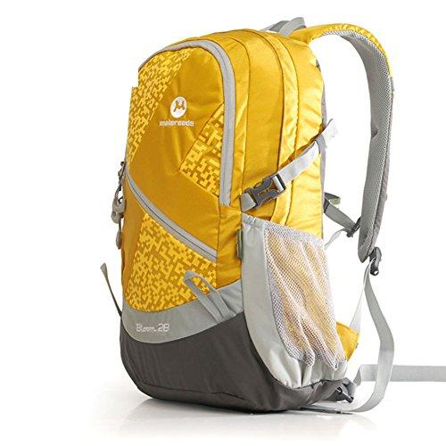Outdoor-Paket/Männer Taschen/Outdoor-Freizeit Umhängetasche-gelb 28L gelb