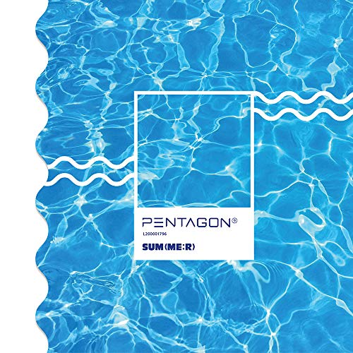 CUBE ENTERTAINMENT Pentagon - Sum(ME:R) (9th Mini Album) CD+Photobook+Photocard+Postcard+Stiker+Folded Poster+Double Side Extra Photocards Set