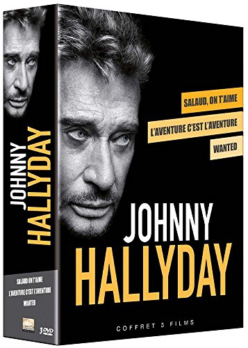 Bild von Coffret johnny hallyday : wanted ; salaud on t'aime ; l'aventure c'est l'aventure [FR Import]