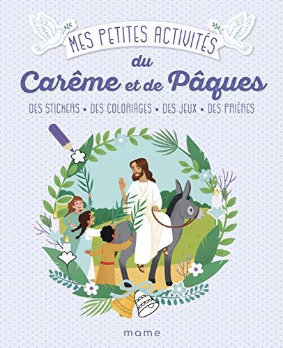 Mes petites activités du Carême et de Pâques