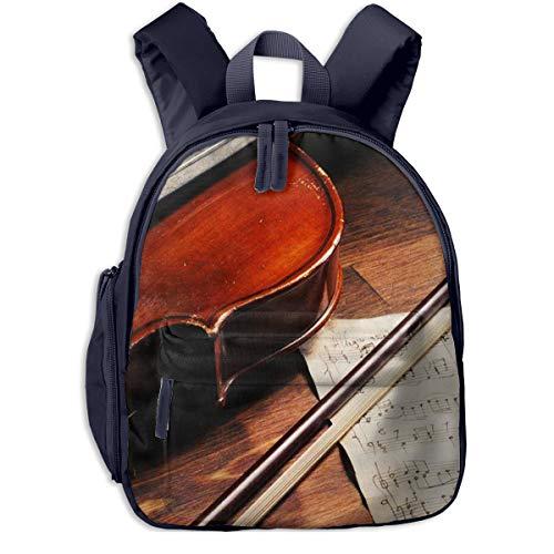 Zaino per Bambini, Anti Verloren Zaino per Bambini, Spartiti violino Scuola Borsa per Bambini, Ragazzi Ragazze Bambini 2-6 Anni