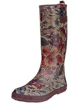 Bisgaard Flower Gummistiefel, Stivali di Gomma Bambina