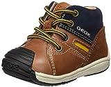 Geox Baby Jungen B Toledo Boy A Sneaker, Braun (Brandy/Navy), 24 EU