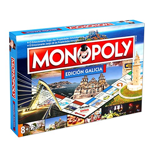 Winning Moves Monopoly Galicia 10223