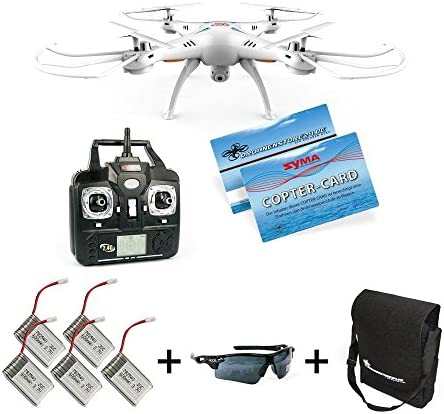 quadrirotor FPV Quadcopter Quadcopter Quadcopter Drone avec Live Caméra original Syma x5sw Upgrade RC WiFi Live FPV Transmission Vidéo real-time Appareil photo pour Smart Phone iOS Android Headless Mode 30 cm UFO ferngesteuert 2,4 GHz RtF 4 canaux Read y2fly | Ve d55efd
