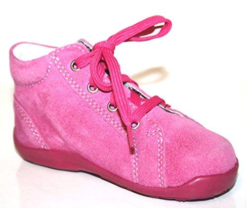 Richter Kinderschuhe 0021-11 Baby Mädchen Lauflernschuhe Pink (lollypop/fuchsia 3701)