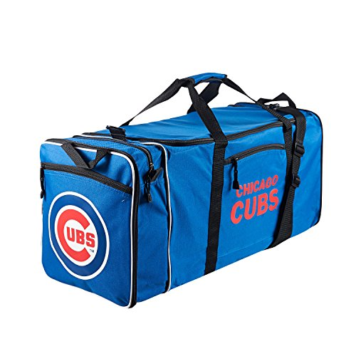 MLB Chicago Cubs Extended Duffle Bag, One Size, Royal (Zusammenklappbar Bag Duffle)