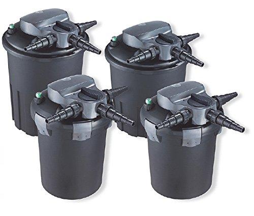 AquaForte Druckfilter BF9000, inkl. 11W UVC, max. Teichgröße 10m³, max. Durchfluss 5m³/h
