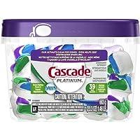 Cascade Platinum Actionpacs Fresh Scent Dishwasher Detergent, 39 Count, 23.3 Oz
