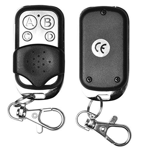 Gfone 4-Tasten-Wireless-Klon Auto Garagentor elektrische Fernbedienung Schlüsselbund Schlüsselanhänger für Auto Garagentor Elektrisches Tor