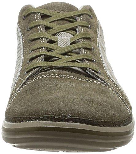 Skechers Landen Buford, Chaussures de ville homme Marron (Tpe)