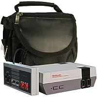 Nintendo Classic Mini borsa da viaggio, ALL-IN-1 trasporta il sacchetto per Twitfish® - Portare la console + tutti i suoi componenti + 2 ° controllo + altri - da utilizzare con il nuovo NES Classic Edition 2016 - NERO