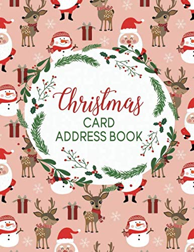 Christmas Card Address Book: Make the Holidays Easy! Track your Cards and Gifts! - Boxed Album Kit