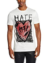 Antony Morato Stampa Hate, T-Shirt Homme