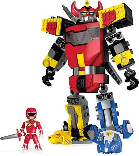 Mattel Mega Bloks DPK78 - Construx Power Rangers Mighty Morphin Megazord, Baukästen