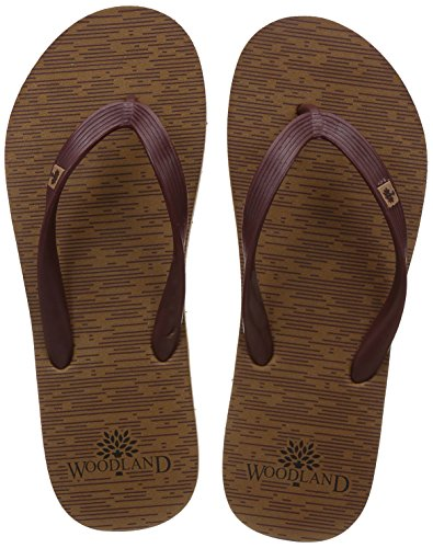 Woodland Men's Camel Flip Flops Thong Sandals - 10 UK/India (44 EU)  available at amazon for Rs.399