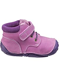 Hush Puppies Girls Lily Toddler Soft Leather Padded Pre-Walkers Shoes