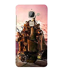 For LeEco Le 2s :: LeEco Le 2 Pro :: LeTV 2 Pro :: Letv 2 :: LeEco Le 2 wood board ( wood board, lighter, wood, nature ) Printed Designer Back Case Cover By TAKKLOO