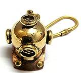 Artshai Nautical Brass Divers helmet key...