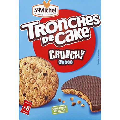 st michel Cookies tronches de cake, céréales souflées nappés choco - ( Prix Unitaire ) - Envoi Rapide Et Soignée