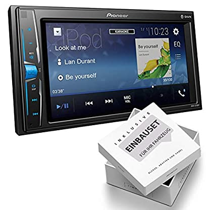 Pioneer-MVHA210-2-DIN-Mediareceiver-Bluetooth-USB-Aux-Bluetooth-passend-fr-Dodge-RAM