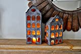 Schöne, große 'Dutch House'Kerzen-ideal für Innen und Außen!