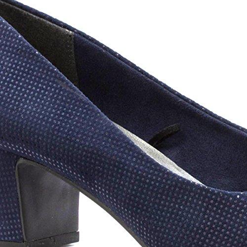 Marco Tozzi, Scarpe col tacco donna Blue