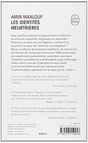 Zoom IMG-1 les identites meurtrieres