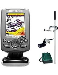 Lowrance Hook 3x Farb Echolot Fischfinder PORTABEL Master Plus Edition