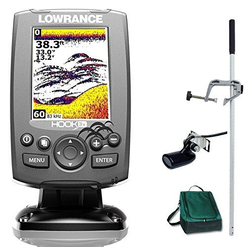 Lowrance Hook 3x Farb Echolot Fischfinder Portabel Master Plus