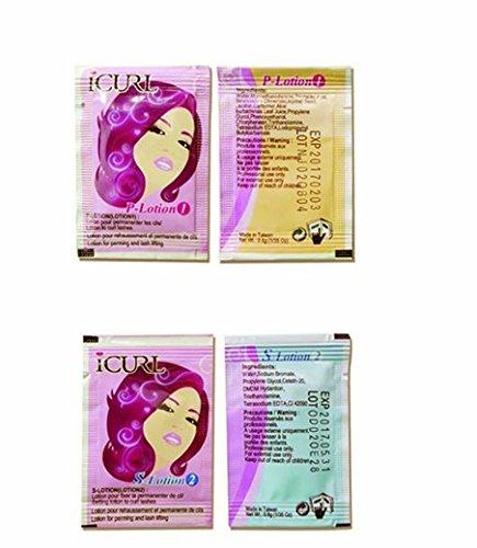 Réassort de 10 monodoses iCurl® permanente/Rehaussement de cils