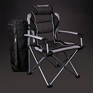 ProMech Paddock Folding Chair - Graphite Grey
