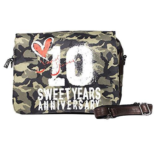 Sweet Years Mann Tasche - Mod. 2313 ANNIVERSARY Tarnung - Dunkelbraun