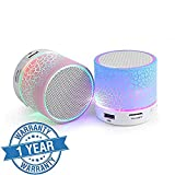 #2: Padraig (Top Selling) Latest Wireless LED Bluetooth Speaker S10 Handfree with Calling Functions & FM Radio (Assorted Colour)
